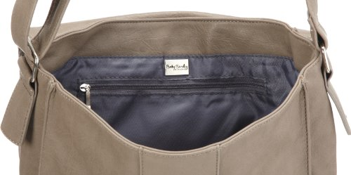 Betty Barclay Lynn D-359 LY 16, Damen Messengerbags, Grau (grey), 28x33x10 cm (B x H x T) Grau (Grey)