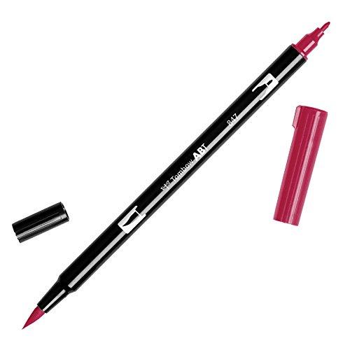 Tombow Dual Brush Pen Art Marker, 847 - Crimson, - Crimson Pen