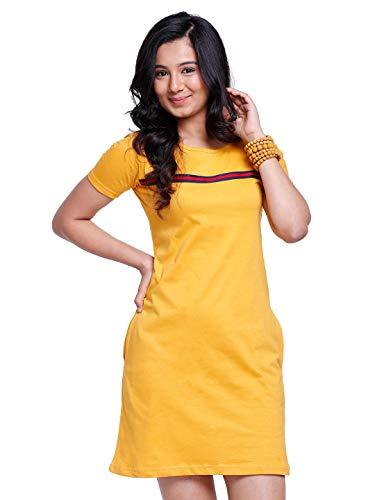The Souled Store Women's Mini T-shirt Dress