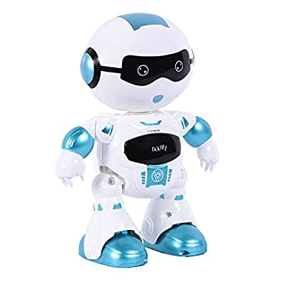 LKKLILY Remote Control Robot with Touch Interaction Music Dance and Lights Remote Toy for Children Kids and Kids Gifts