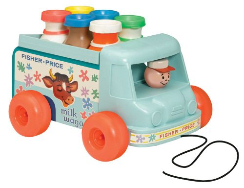 Basic Fun Fisher Price Milk Wagon Buy Online In Ksa Toy Products