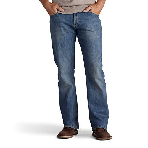 Lee Men's Modern Series Relaxed Fit Bootcut Jean, Santiago, 29x30