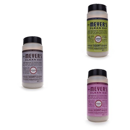 Mrs. Meyer's Laundry Scent Booster 3ct Fragrance Variety Pack - Lavender, Lemon Verbena, Peony (Peony Scent)