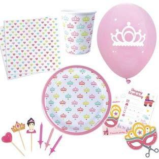 Kit de Cumpleaños - Princesas: Amazon.es: Hogar