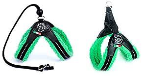 Latz Morbidosi fleece lång med slinga 1,5 grön