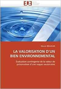 LA VALORISATION D'UN BIEN ENVIRONNEMENTAL: Évaluation