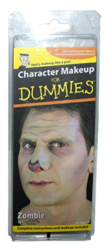 Dummy Costume Makeup (Character Makeup for Dummies-Zombie)