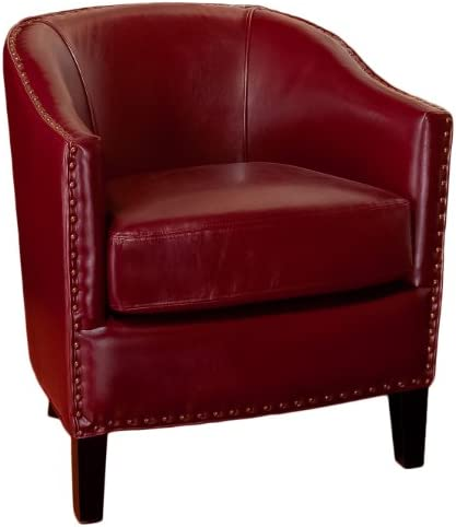 Best living room chair: Christopher Knight Home Austin Leather Club Chair