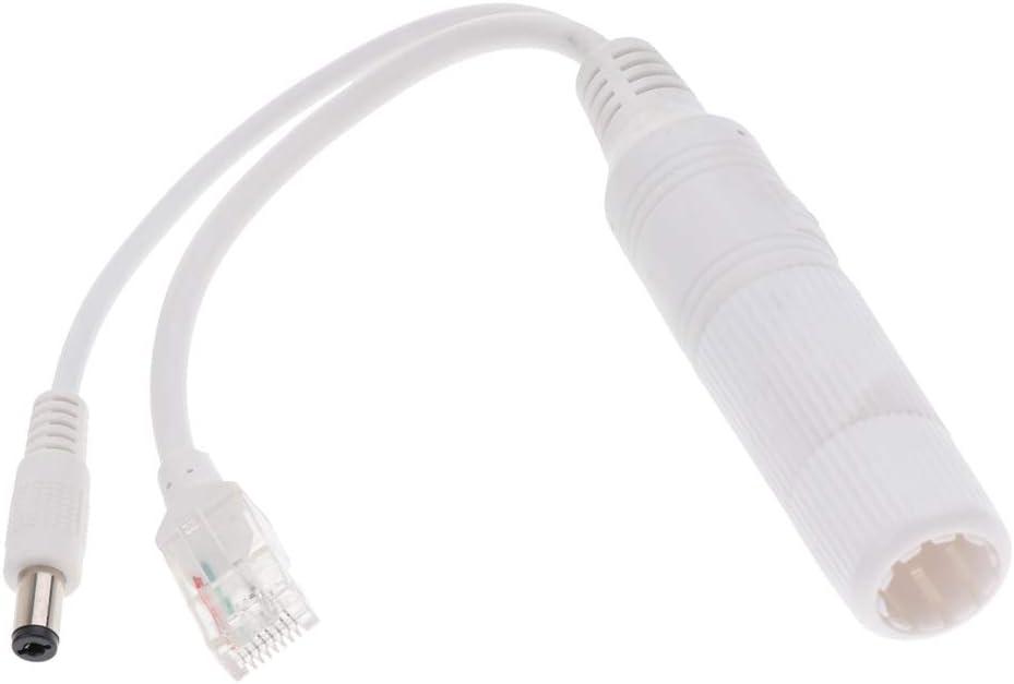 Gazechimp Divisor PoE Power Over Ethernet 24V A 12V 2A Impermeable IEEE 802.3 AF/AT