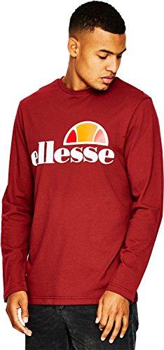 Shs01765 Homme Pour Tibetan Shirt Ellesse T Grazie Red Quhhwntp ZkPXiu