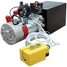 New 12V Hydraulic Pump /Hydraulic power unit/Electric dump trailer power unit (Double Acting 6 Quart )