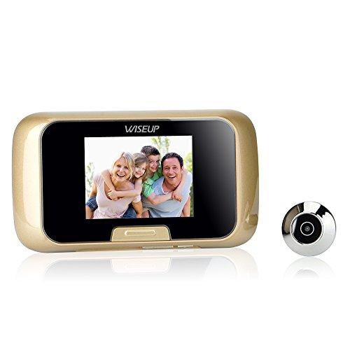 WiseupTM Security Peephole Snapshot Recording product image