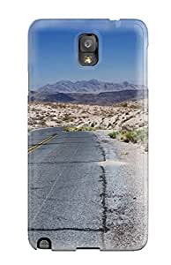 Excellent Galaxy Note 3 Case Tpu Cover Back Skin Protector Road