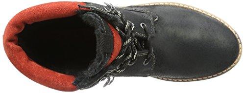 s.Oliver Damen 26239 Combat Boots Schwarz (Black 001)