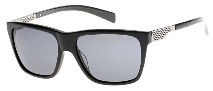 menu0027s black label collection sunglasses blacksilver flash lens