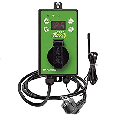 BioGreen TER2/US Thermo 2 Digital Greenhouse Thermostat with Summer/Winter Function 2 Years Warrenty