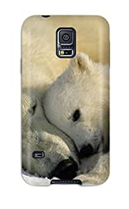 Defender Case With Nice Appearance (polarbears ) For Galaxy S5