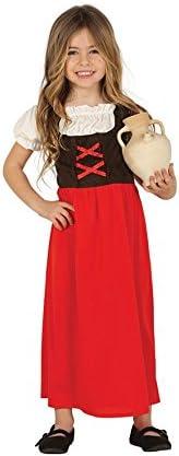 Guirca 41724 - Disfraz posadera-pastora infantil, Multicolor, 5-6 ...