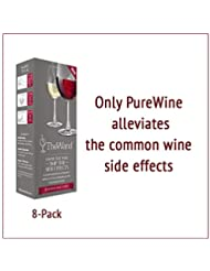The Wand by PureWine | Removes Histamines & Sulfite Preservatives, By-the-Glass | No More Wine Headaches (8-pack)