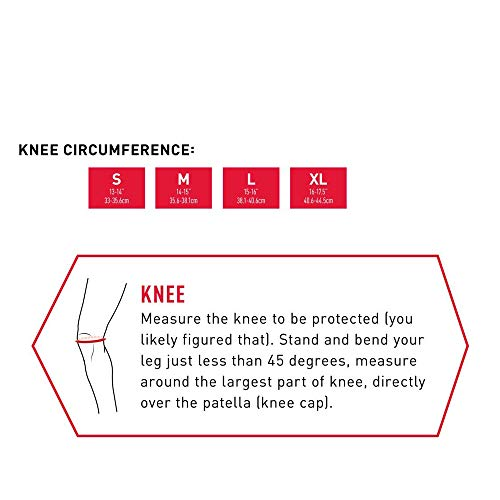 TY BEI Kneepad Kneepad - Knee Pad with Thick Gel Insert for Impact Absorption. Compression Sleeve for Support and Protection @@ (Size : S) by TY BEI (Image #1)