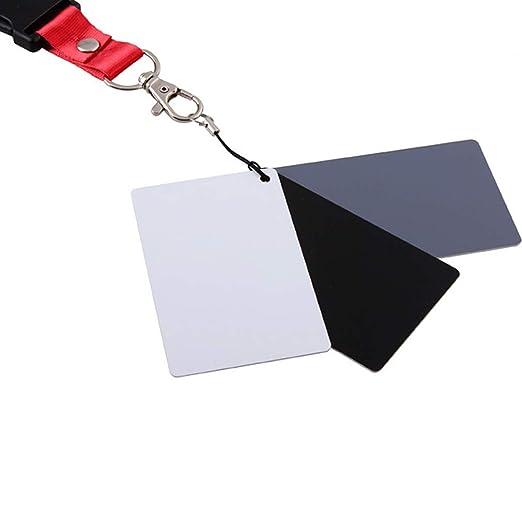 Hengxingwf White Balance - Tarjeta de comparación, 18 Grados ...