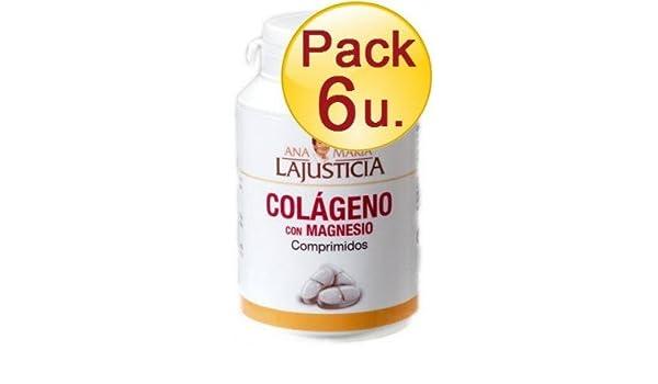 COLAGENO con MAGNESIO 180 C ANA MARIA LAJUSTICIA - pack6-colageno-magnesio-180C: Amazon.es: Salud y cuidado personal