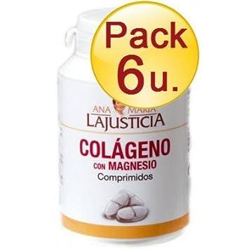 AnaMariaLaJusticia - PACK 6U. COLAGENO con MAGNESIO 180 C ANA MARIA LAJUSTICIA - pack6-colageno-magnesio-180C: Amazon.es: Salud y cuidado personal