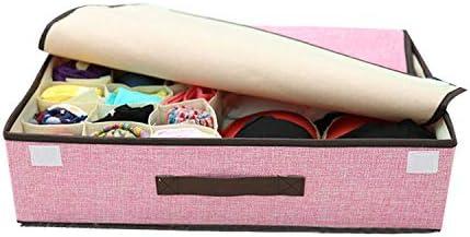 下着収納収納ボックス 収納ボックス 活性炭衣類整理袋 収納ケース 収納ボックス (粉)
