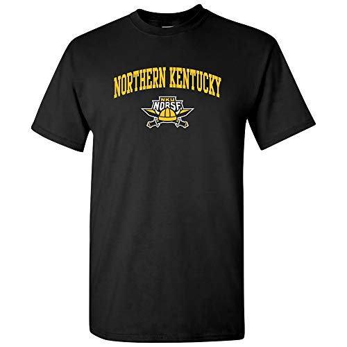 AS03 - Northern Kentucky Norse Arch Logo T-Shirt - 3X-Large - Black