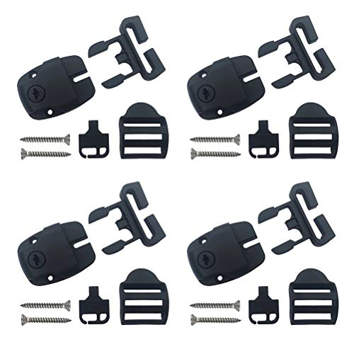 Spa Hot Tub Cover Locks Push Button Release set of 4