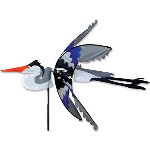 42 In. Flying Great Blue Heron Spinner