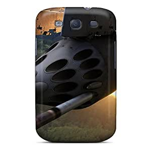 Galaxy S3 Case Cover - Slim Fit Tpu Protector Shock Absorbent Case (mil Mi 24v)