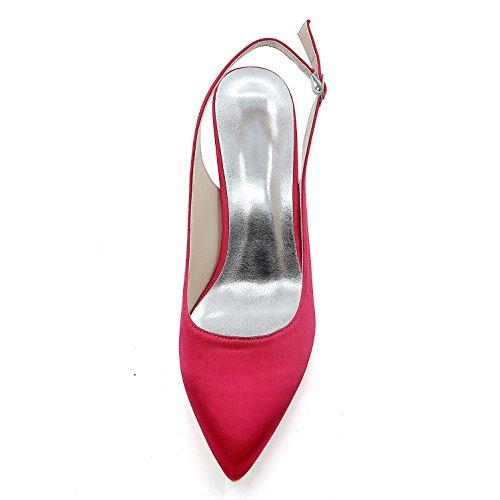 Alto yc L Variedad Zapatos una Seda Pink Cómodos Las Personalización Color Noche Y La Tacón Mujeres De Boda Vestido qTAdSTnfB
