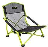 ALPS Mountaineering Rendezvous Elite Folding Camp Chair, Black/Citrus, One Size