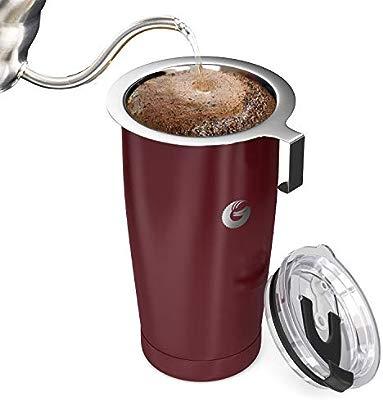 Coffee Gator Cafetera de Viaje Cafetera de Goteo sin Papel Todo en ...