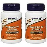 NOW Foods Probiotic-10 25 Billion, 50 Vcaps (100)