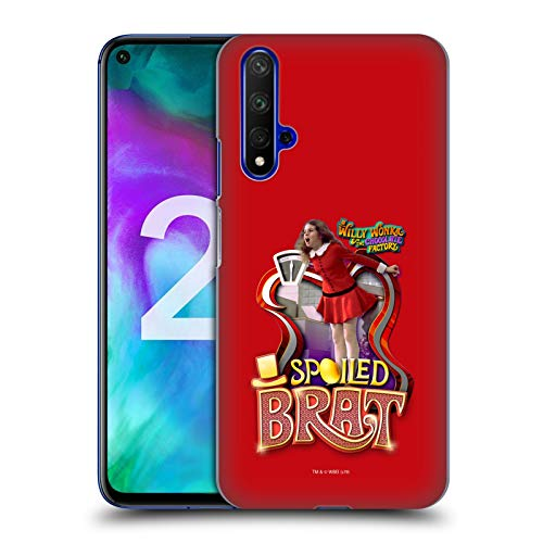 Official Willy Wonka and The Chocolate Factory Veruca Salt Graphics Hard Back Case Compatible for Huawei Honor 20