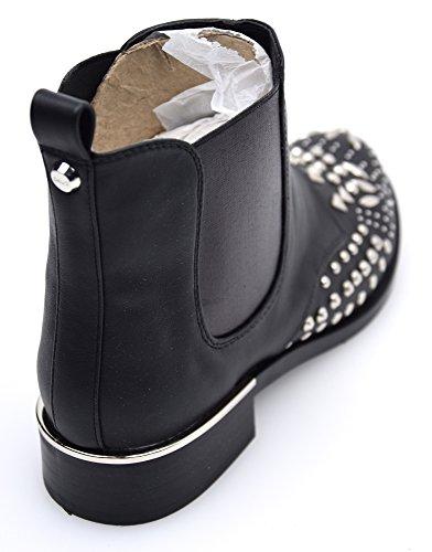 Gaudì Zapato Clásica Para Mujer Negro con Gliiter Art. V64-64866 NERO - BLACK
