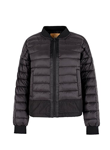 Ultraleggero 90 Volo Sack Classico Bomber White Warm Elf Nero Donna Giubbotto Down Da Duck Zip WEIOA4q4n