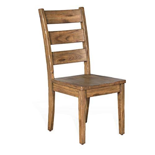 (Sunny Designs Sierra Dry Leaf Ladderback Chair)