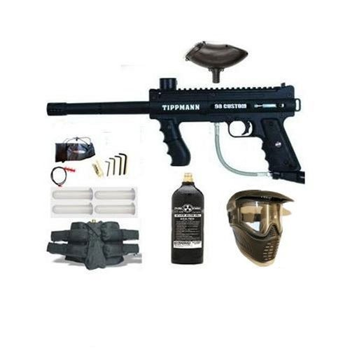 Paintball Tippmann Tippmann 98 Custom PLATINUM Marker Gun Set #2