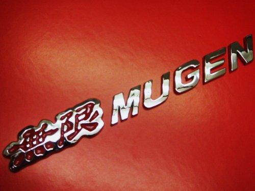 Honda Mugen Chrome Trunk Emblem (Mugen Honda Emblem compare prices)