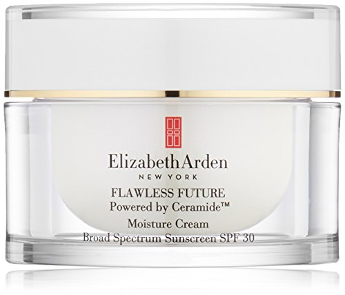 Elizabeth arden flawless future ceramide spf 30 moisture cream sunscreen 17 oz