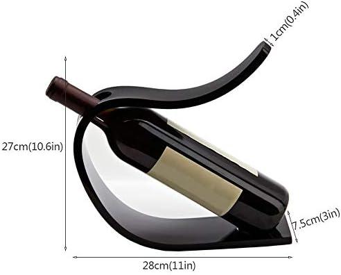 小さくてシンプルなカウンタートップのワインラック、モダンなメタルワインラックは、キッチンやリビングルームに置くのに適しています。
