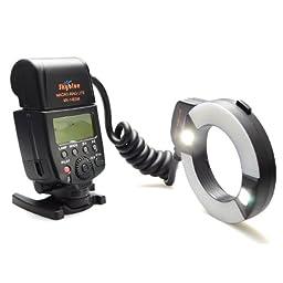 Meike® MK-14EXM brand new Macro ring flash with LED AF assist lamp