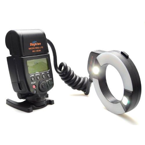 Meike® MK-14EXM brand new Macro ring flash with LED AF assist lamp by Meike