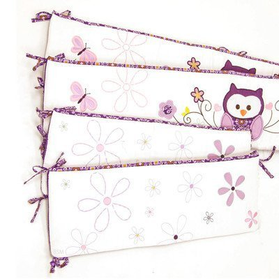 Plum Owl Meadow Nursery Versatile Bumper by Baby's First by - Stores Meadow Mall