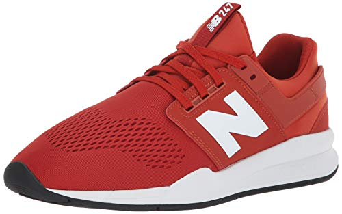 New Balance Men's 247 V2 Sneaker, Vintage Russet/White, 8.5 W US