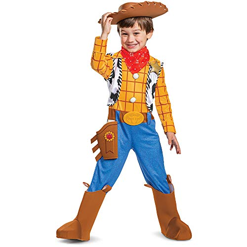 Disney Pixar Woody Toy Story 4 Deluxe Boys'
