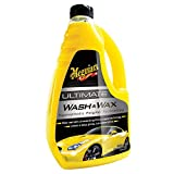 Meguiar's G17748 Ultimate Wash & Wax, Cera 48 oz